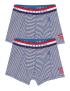 Claesen's - Boys 2-Pack Boxershorts - Navy Stripes