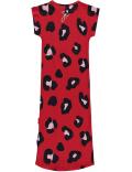 Quapi - Jurk - Sterre - Rouge Red Leopard