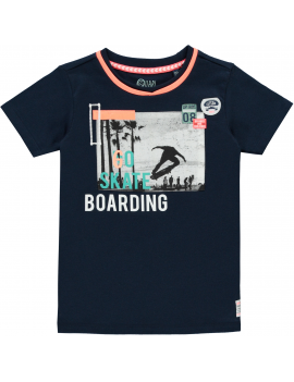 Quapi - T-Shirt - Sep - Navy