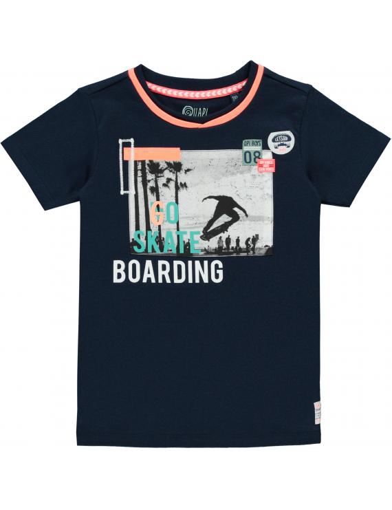 Quapi - T-Shirt - Sep - Navy