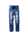 Cakewalk - Pants Full Length - Desiree - Mid Blue Denim