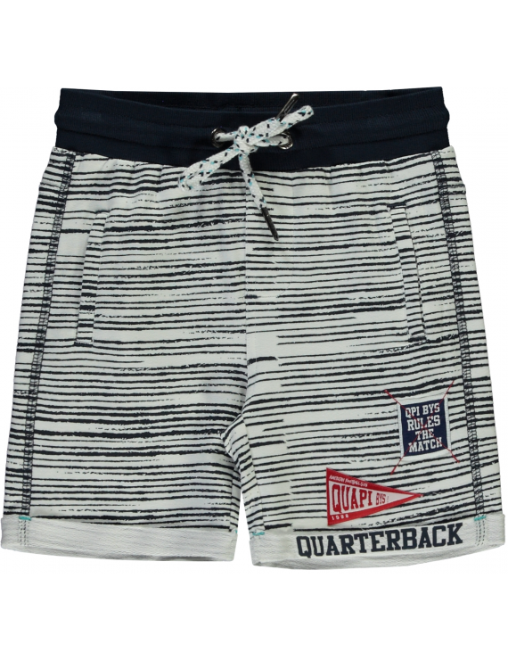 Quapi - Short - Shawn - Navy Stripe