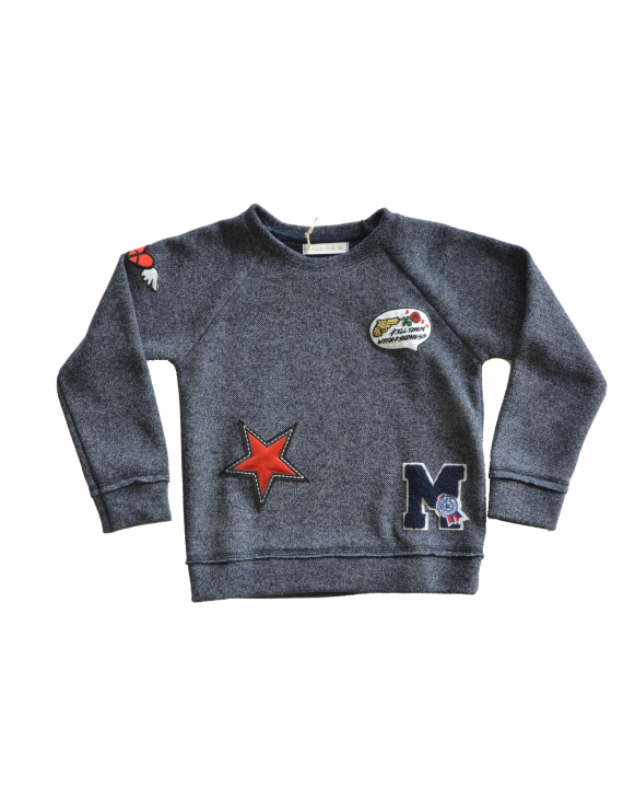 Pauline B - Sweater - Penny Navy Badge