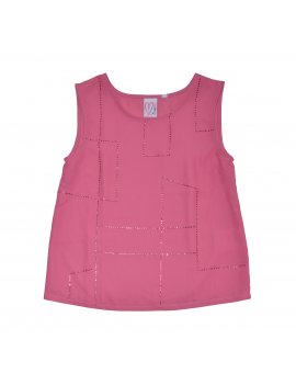 Loved by Miracles - Top - Courtney - Azalea Pink
