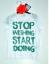 Liu Jo - T-Shirt M/C Delcious White