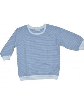 Pauline B - Shirt - Tacoma - Blau/Weiss