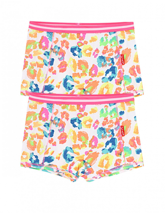 Claesen's - Girls 2-pack Boxershorts -Animal