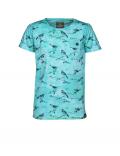 Indian Blue Jeans - T - shirt SS Bird - Sea Green