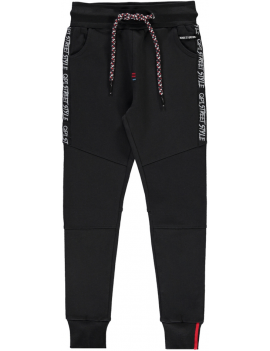 Quapi - Sweat Pants - Tiemo - Dark Grey