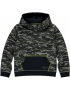 Quapi - Hooded Sweater - Tjebbe - Army Green Camo