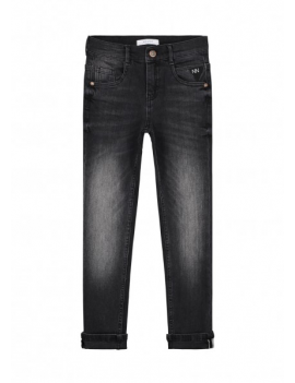 Nik & Nik - Jeansbroek - Francis Denim Dark Grey - Skinny Fit