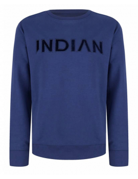 Indian Blue Jeans - Longsleeve - Deep Blue Crewneck