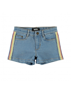 Molo - Short - Angelina - Light Blue Denim
