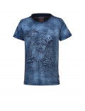 Indian Blue Jeans - T - shirt SS Sketch - Indigo