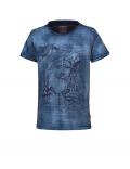 Indian Blue Jeans - T - shirt SS Sketch - Indigo
