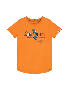 Quapi - T-Shirt - Aiden - Manderin Orange