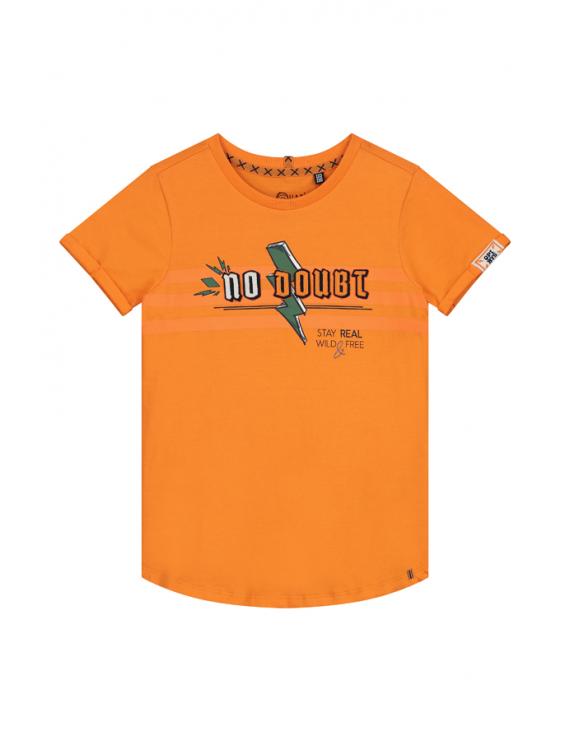 Quapi - T-Shirt - Aiden - Manderin Orange
