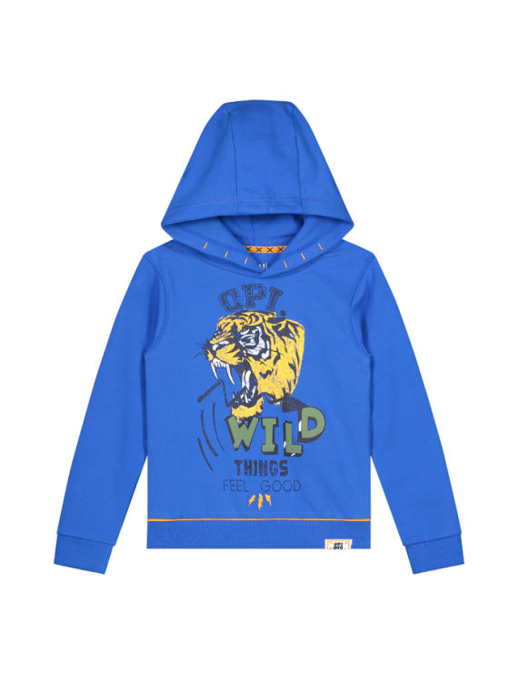 Quapi - Hooded Sweater - Angelo - Parrot Blue