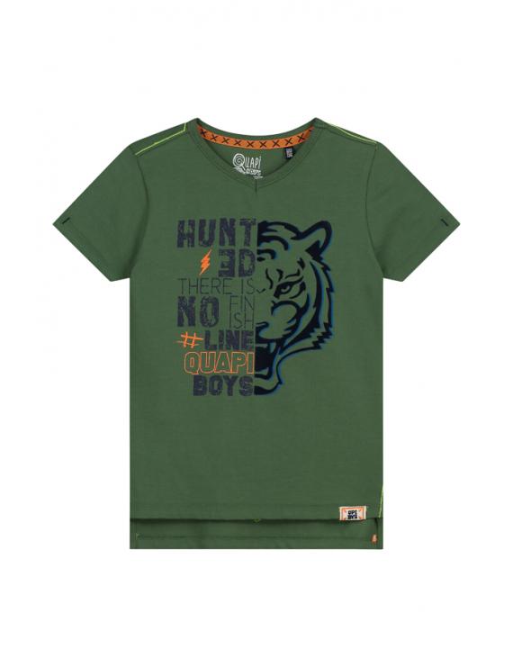 Quapi - T-Shirt - Alexio - Jungle Green