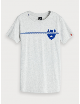 Scotch & Soda - T-Shirt - AMS - Blauw
