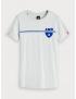 Scotch & Soda - T-Shirt - AMS - Blauw