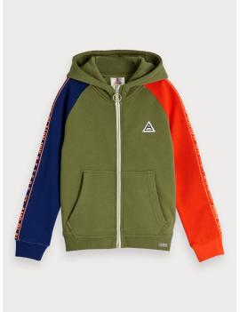 Scotch & Soda - Vest/Sweater - AMS - Groen