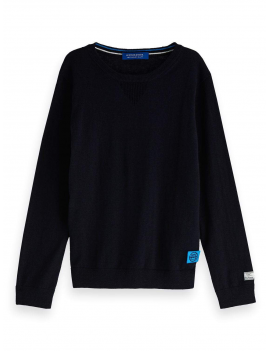 Scotch & Soda - Pullover - Cotton Cashmere - AMS - Navy