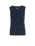 Indian Blue Jeans - Singlet Fancy Dot - Indigo