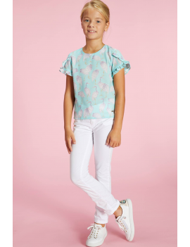 Blue Bay - Top - Isabella Pastel Green