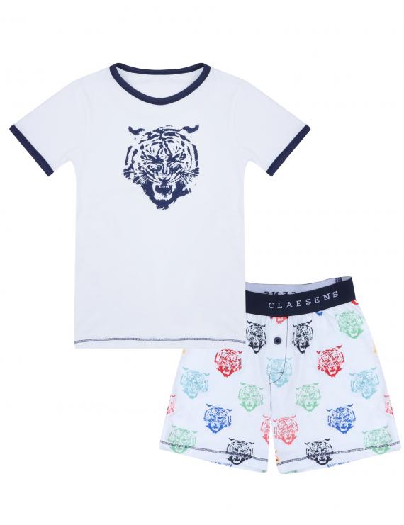 Claesen's - Boys - Pyjama - Tiger Head