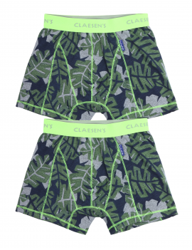 Claesen's - Boys - 2-Pack Boxershorts - Tropical