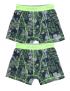 Claesen's - Boys - 2-Pack Boxershorts - Tropical