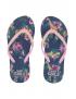 Quapi - Slippers - Anika - Indigo Blue Flower
