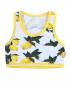 Claesen's - Girls Croptop - Lemon