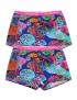 Claesen's - Girls 2-Pack Boxershorts - Sea
