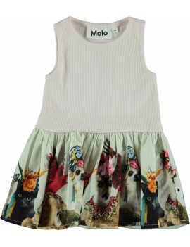 Molo - Jurk - Cordelia - Party Animals Baby