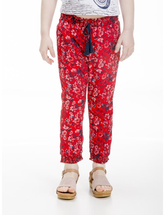UBS2 - Broek - Red flowers