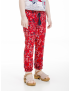 UBS2 - Broek - Red flowers