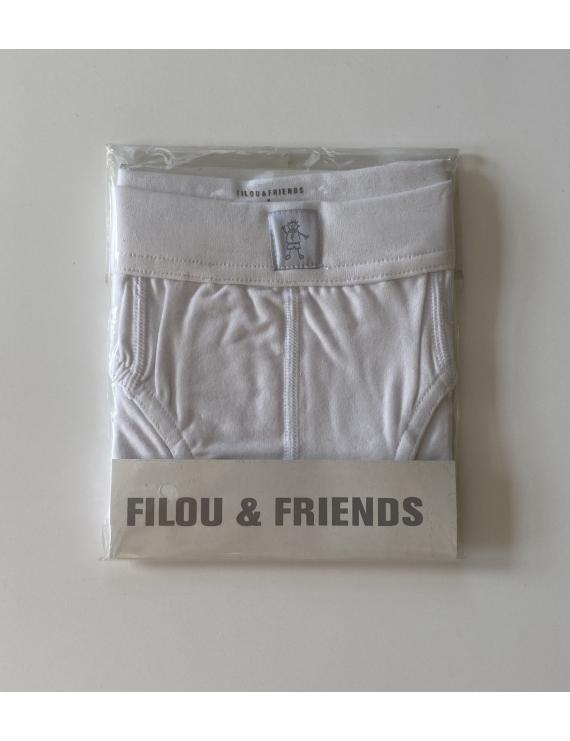 Filou - Slip - Wit