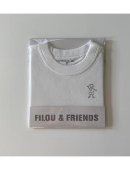 Filou - Onderhemd - KM Wit