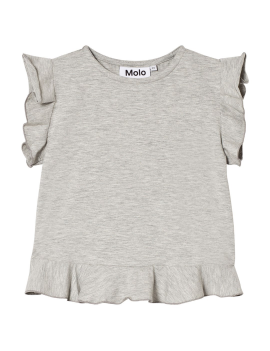 Molo - T-Shirt - Rabia - Light Grey Melange