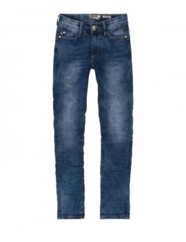 Indian Blue Jeans - Blue Nova Skinny Fit  -  Jeans - Used Dark Denim