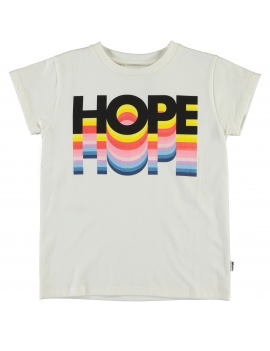 Molo - T-Shirt - Ranva - Hope Rainbow Tee