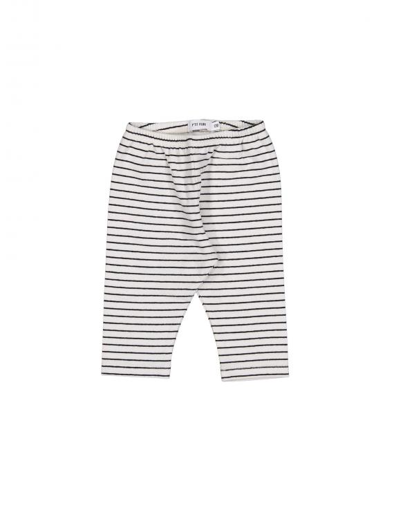 Filou - Babybroek - Black Stripe Ecru