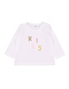 Filou - T-Shirt Kiss - Wit