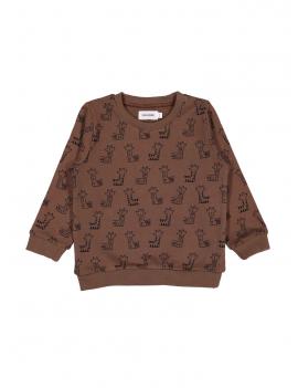 Filou - Sweater - Welcome - Bruin