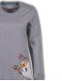 Woody - Pyjama - Grijsblauw-gestreept - Spookdier