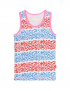 Claesen's - Girls Singlet - Panther Stripes