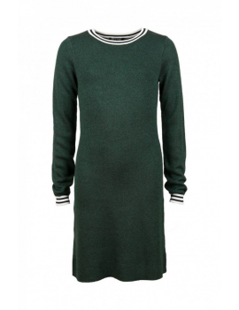 Someone - Jurk - Vertical - Dark Green