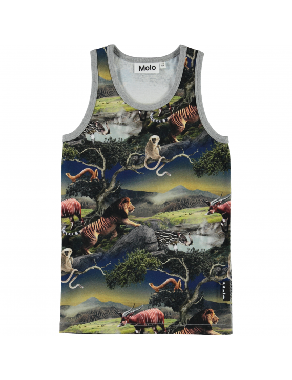 Molo - Jim - Singlet - Future Animals